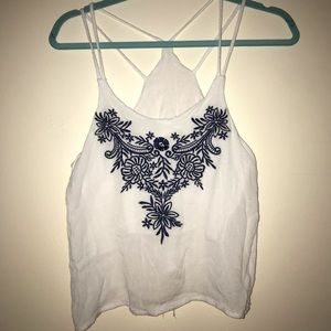 SHEIN Embroidered Tanktop